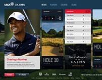 USOpen.com Design Study
