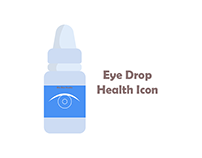 eye drops Health Icon