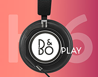 Beoplay H6 -Landing Page