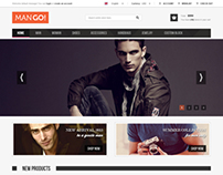 ManGo Magento Website