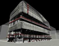 Architecture Design of Parse commercial building -2009