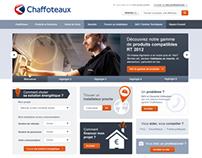 CHAFFOTEAUX - Webdesign