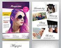 Creative magazine layout design services