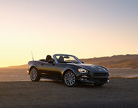 FIAT 124 Spider Shoot