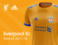 Liverpool FC third kit 2017/18