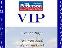 Pederson for Senate Election Night Credential