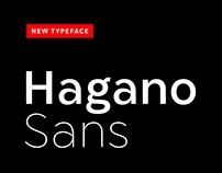 Hagano Sans Font Family