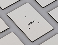 Amida. Brand Identity and web design.