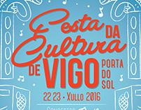 Festa da Cultura Vigo 2016 · Poster Design