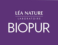 Biopur de Léa Nature - Design Packaging