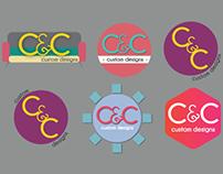 C&C Custom Designs Logo