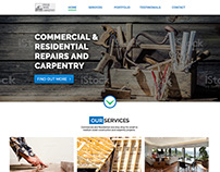 RWC Carpentry Contractor Re-Design
