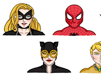 SUPERHEROES - Marvel and DC Characters