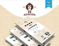 Baboon – Landing page