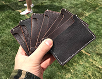 Leather wallets - Student Art Sale