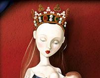 Canvas series - Madonna, Serafines and Cherubines