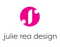 identity design for julie rea design