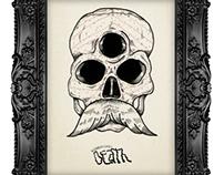 DEATH serie 3 ojos Ilustración