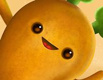 La última mango-zanahoria del desierto.