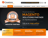 One Creations Limited Corporate Website