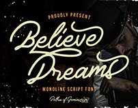 Believe Dreams