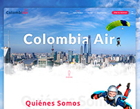 ColombiAir / Landing Page