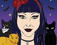 Portrait commission of Kristen C.