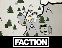 Motion pour la vidéo 2016 de Faction skis