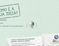 Anúncio RIC - Revista Festival Publicidade de Gramado