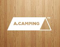 A.CAMPING logo renewal