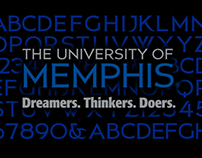 University of Memphis Brand Development
