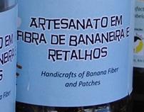 Artesanato em Fibra de Bananeira