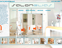 Salon Elias Latest Webpage Design