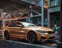 BMW render by 893.studio