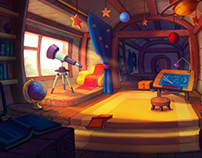 Astronomer's room
