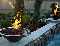 Outdoor fireplaces, fire pits rise in popularity