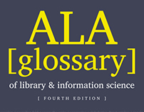 ALA Glossary book cover
