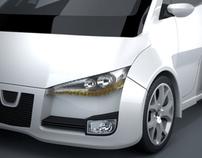 Peugeot  P.L.U.X.            Smart city car concept.