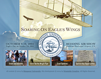 Soaring on Eagle's Wings Promotional Website