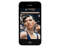 Web Design - Adorn Jewelry