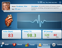 Patient Monitor UI