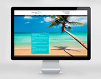 Web for travel company