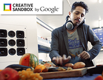 Featured in Google Creative Sandbox: Sound of Freshness