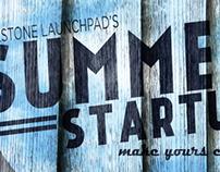 Summer Startup Wooden Banner