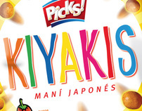 """Kiyakis"" - Peanuts for the argentinian market."