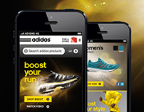 adidas Boost Running Mobile