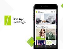 Falabella iOS Redesign Concept - UI/UX Design
