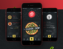 Pizza Hut App Concept