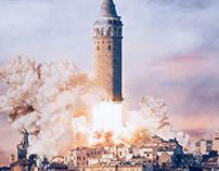 Galata Tower Rocket