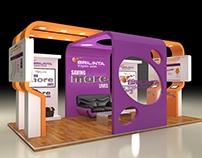AstraZeneca _ BRILINTA Exhibition Design